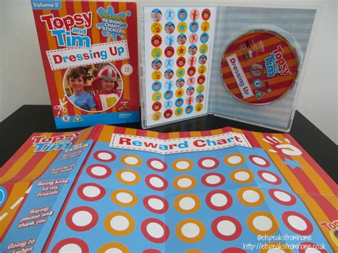 Topsy And Tim: Dressing up DVD - ET Speaks From Home