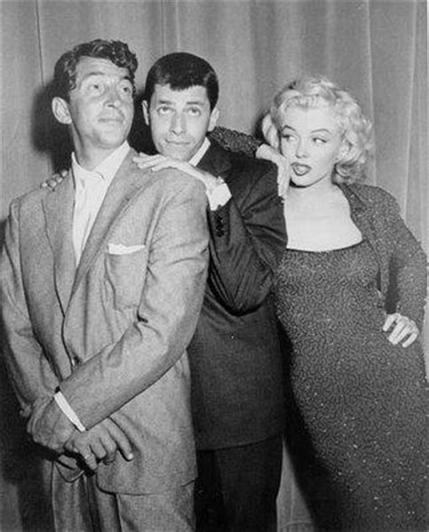 Marilyn Monroe, Jerry Lewis and Dean Martin