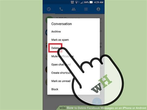 How to Delete Facebook Messages on an iPhone or Android: 7