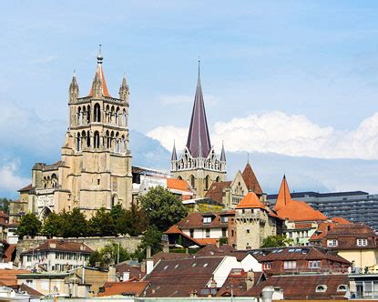 Cathedrals in Switzerland - Lausanne Cathedral