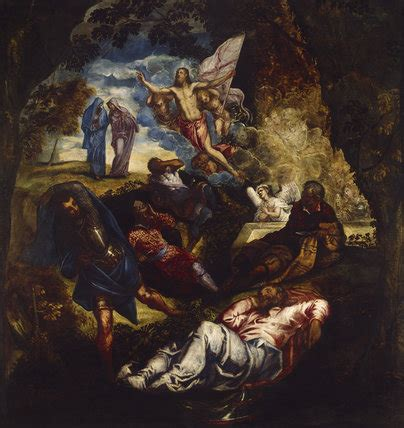 The Resurrection of Christ by Tintoretto at Ashmolean Museum
