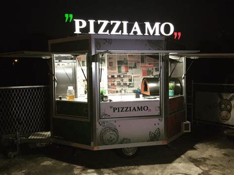 Business Opportunity: Wood Fired Pizza Catering Trailer