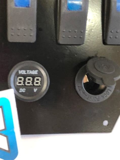 Honda Pioneer 1000 LIMITED dash panel switch COMPLETE Volt