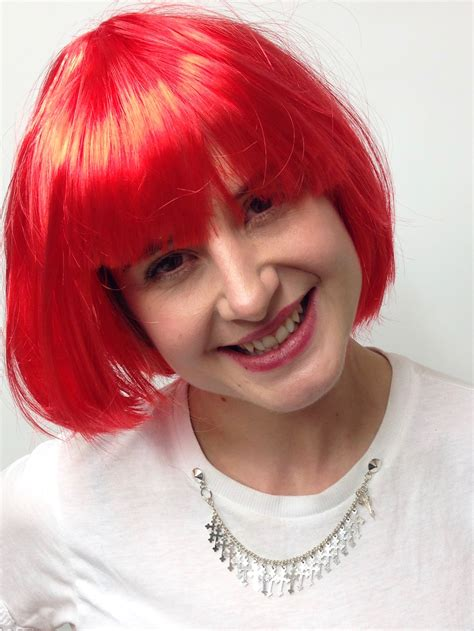 Short Flame Red Bob Wig ***NEW WIGS*** - St Cyr Vintage