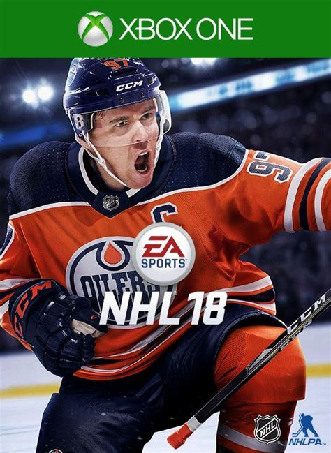 NHL 18 Coming in September With Oilers' Connor McDavid on
