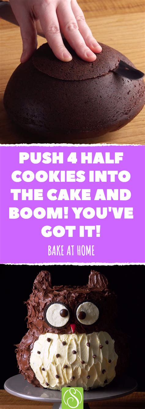 Make a professional-looking party cake in the comfort of