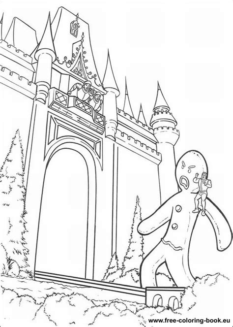 Coloring pages Shrek - Page 1 - Printable Coloring Pages