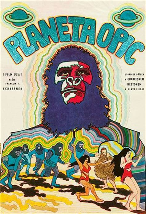 The Planet of The Apes Poster ( European Market