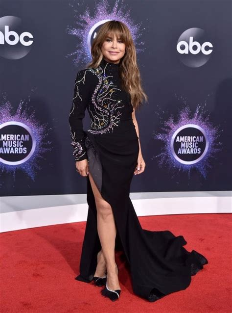 AMAs 2019: Paula Abdul Wins the Red Carpet in Black Gown