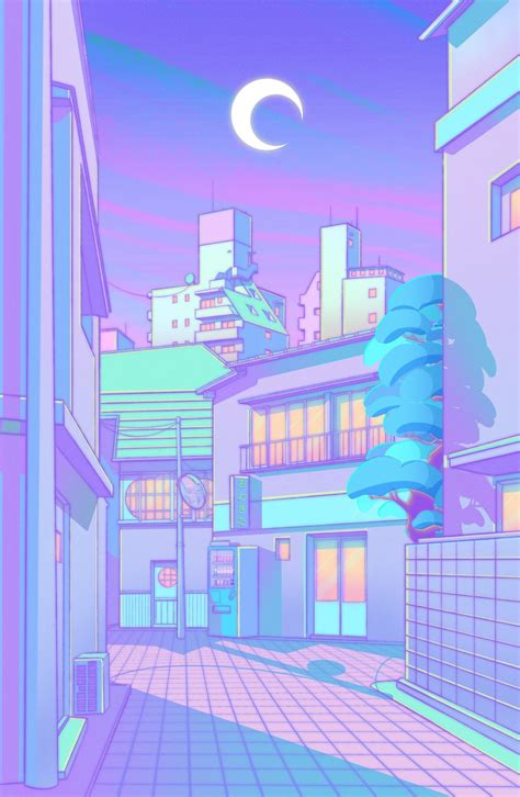 Aesthetic Purple Anime Wallpapers - Wallpaper Cave