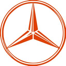 Soylent red mercedes benz icon - Free soylent red car logo