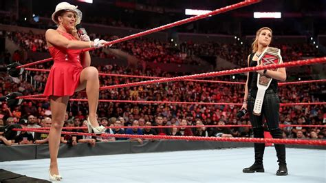Lacey Evans confronted Raw Women's Champion Becky Lynch | WWE