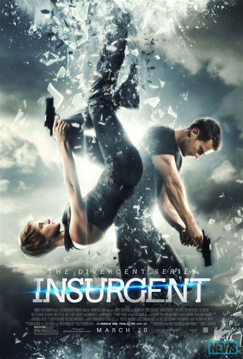 A New And Cool Poster For THE DIVERGENT SERIES: INSURGENT!!