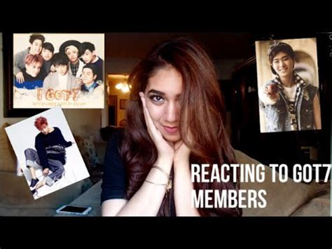 REACTING TO GOT7 MEMBERS (PART 1) - YouTube